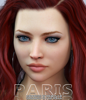 Paris For Genesis 8 Female 3D Figure Assets Freja