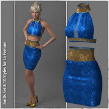 Jordis Set and 10 Styles for La Femme image 2