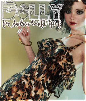Dolly Andrea Outfit G8F 3D Figure Assets alexaana