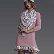Off Duty dForce outfit for Genesis 8 Female(s) image 1