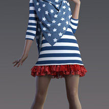 Off Duty dForce outfit for Genesis 8 Female(s) image 10