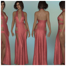 dForce - Chantress Gown for G8F image 4