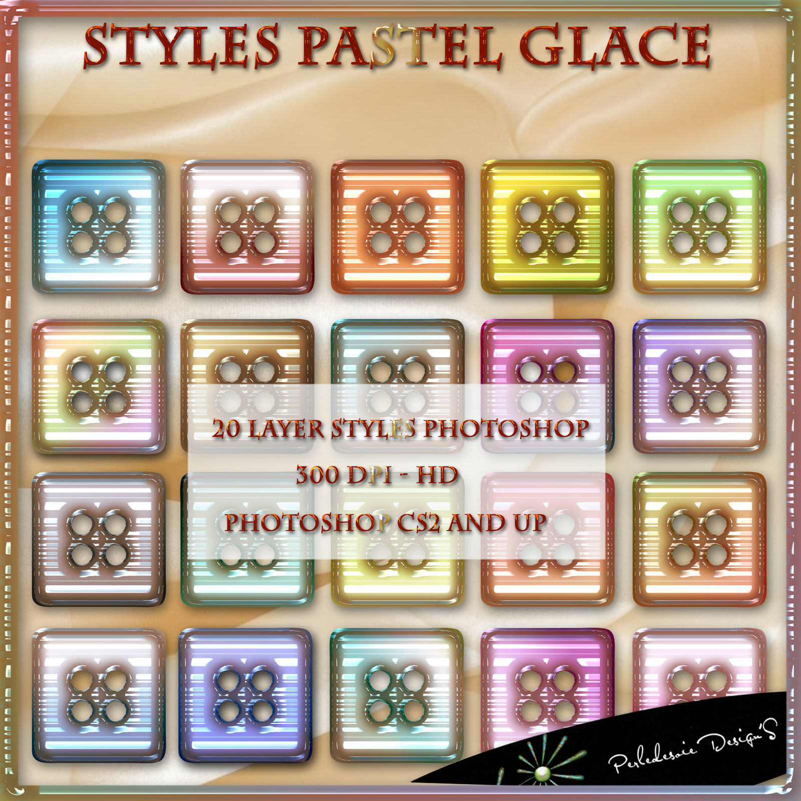 Styles Pastel Glace by Perledesoie