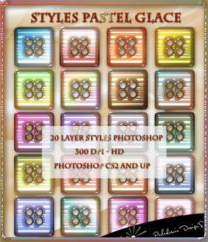 Styles Pastel Glace 2D Graphics Merchant Resources Perledesoie