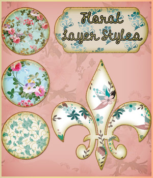 Floral Styles  2D Graphics antje