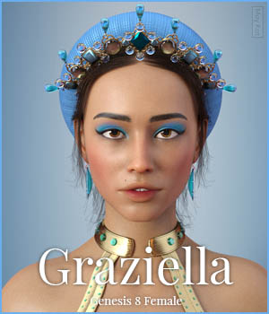 MYKT Graziella for Genesis 8 Female 3D Figure Assets MoyKot