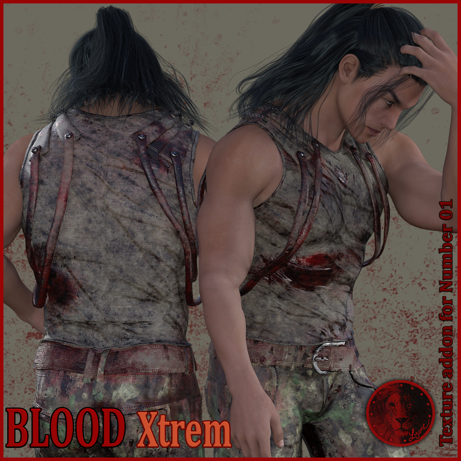 Blood Xtrem for Lyone's Number 01 outfit