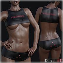SciFi Clothing Set 1 for G8F image 8