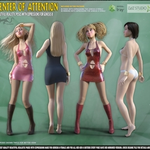 Center Of Attention - poses for Genesis 8 image 3