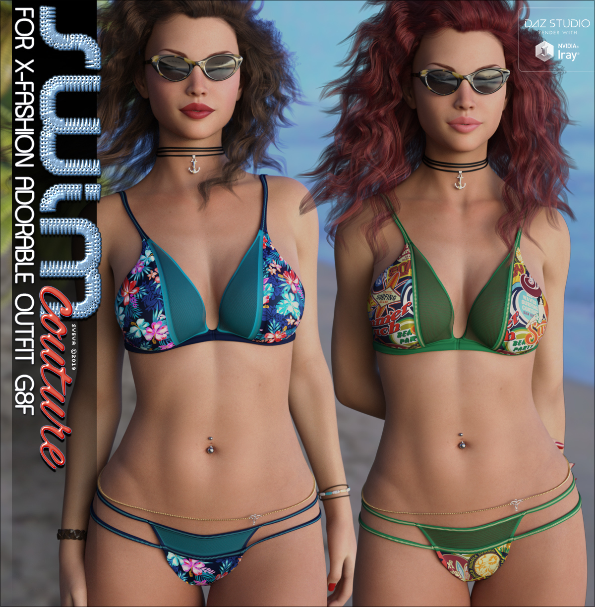 SWIM Couture for X-Fashion Adorable Outfit