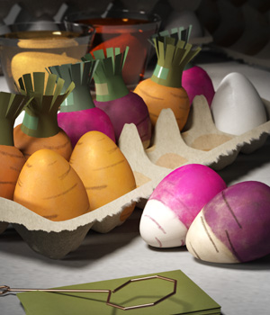 Dyeing for Carrots! 3D Models nightsong