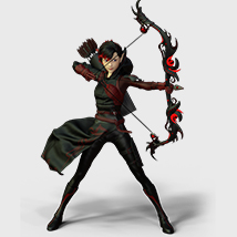 Natsume Archer Outfit for G3F - Extended License image 5