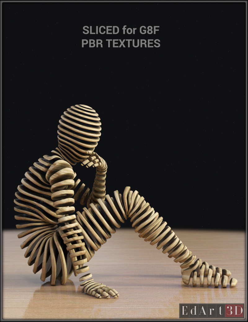 Sliced for G8F PBR Textures - Extended License