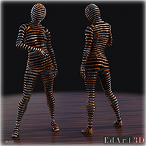 Sliced for G8F PBR Textures - Extended License image 2
