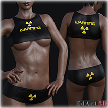 PBR Textures 1 for SciFi Clothing Set 1 for G8F image 3