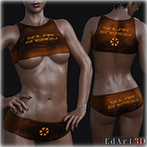 PBR Textures 1 for SciFi Clothing Set 1 for G8F image 6
