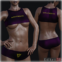 PBR Textures 1 for SciFi Clothing Set 1 for G8F image 9