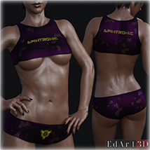 PBR Textures 1 for SciFi Clothing Set 1 for G8F image 10