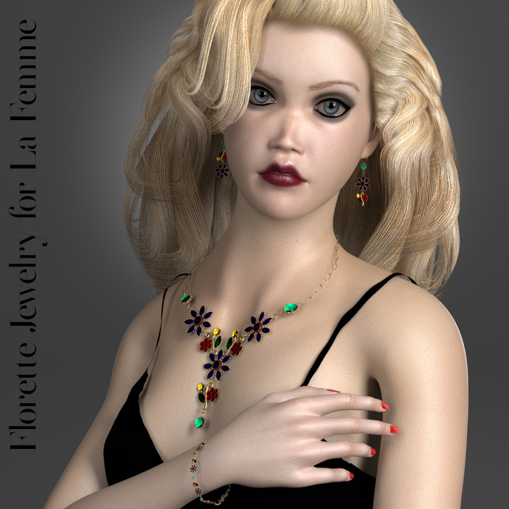 Florette Jewelry for La Femme by jancory