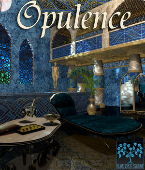 Opulence for Poser 3D Models BlueTreeStudio