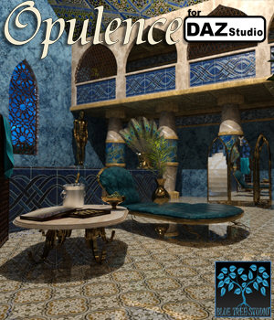 Opulence for DAZ Studio 3D Models BlueTreeStudio