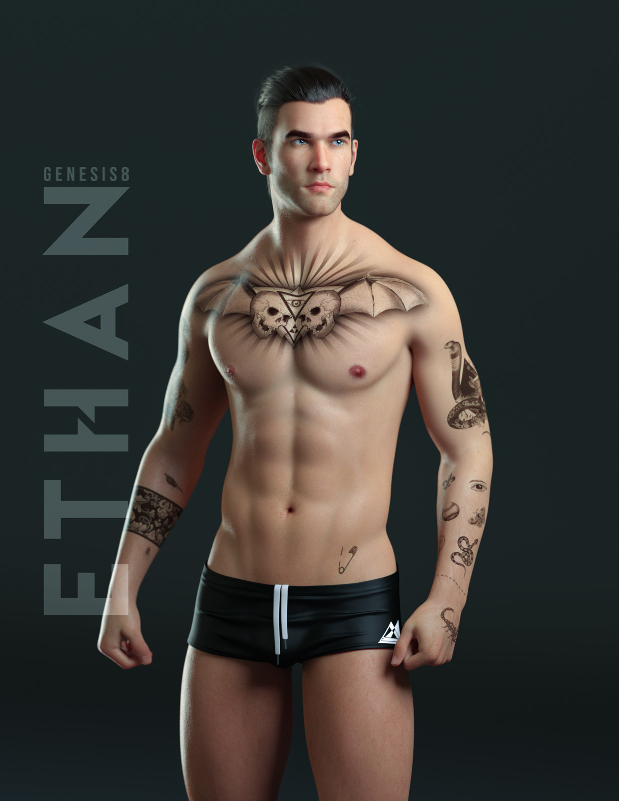 Ethan for Genesis 8 Male