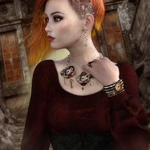 Steampunk Jewelry for G3/G8, La Femme and V4 image 1