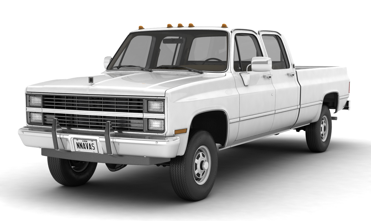 GENERIC PICKUP TRUCK 5 - EXTENDED LICENSE