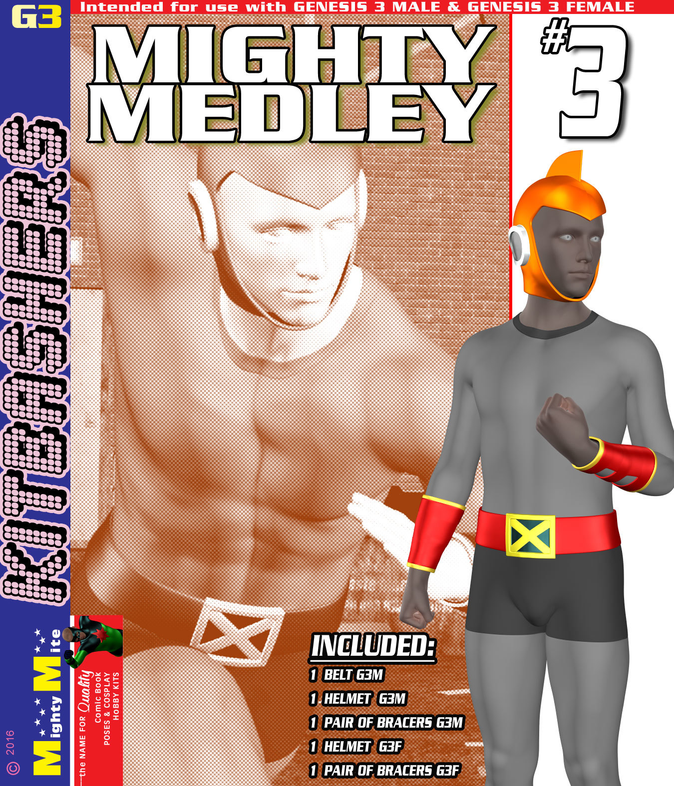 Mighty Medley 003 MMKBG3