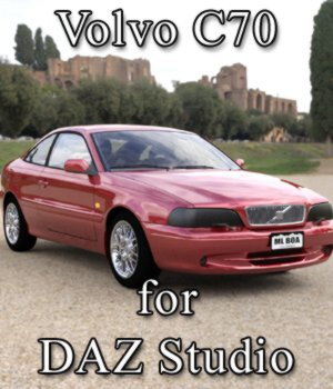 Volvo C70 for DAZ Studio