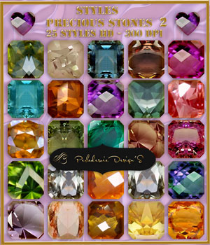Styles Prcious Stones 2 2D Graphics Merchant Resources Perledesoie