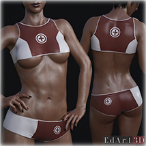 PBR Textures 3 for SciFi Clothing Set 1 for G8F image 6