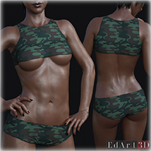 PBR Textures 3 for SciFi Clothing Set 1 for G8F image 7