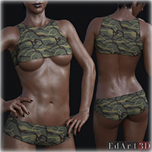 PBR Textures 3 for SciFi Clothing Set 1 for G8F image 9