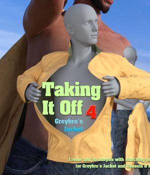Taking It Off For Greybro's Jacket 3D Figure Assets Disciple3d