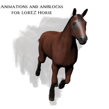 Animations and aniBlocks for LoRez Horse image 2