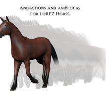 Animations and aniBlocks for LoRez Horse image 3