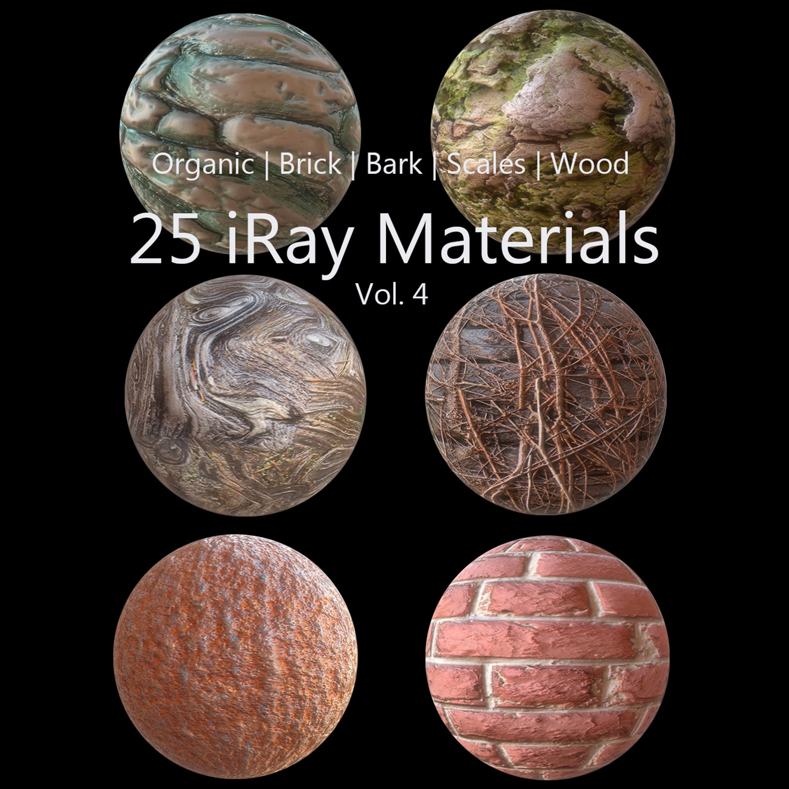 iRay Materials Collection