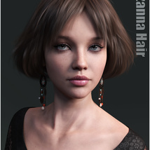 Lizanna Hair for Genesis 3 and 8 Females image 5
