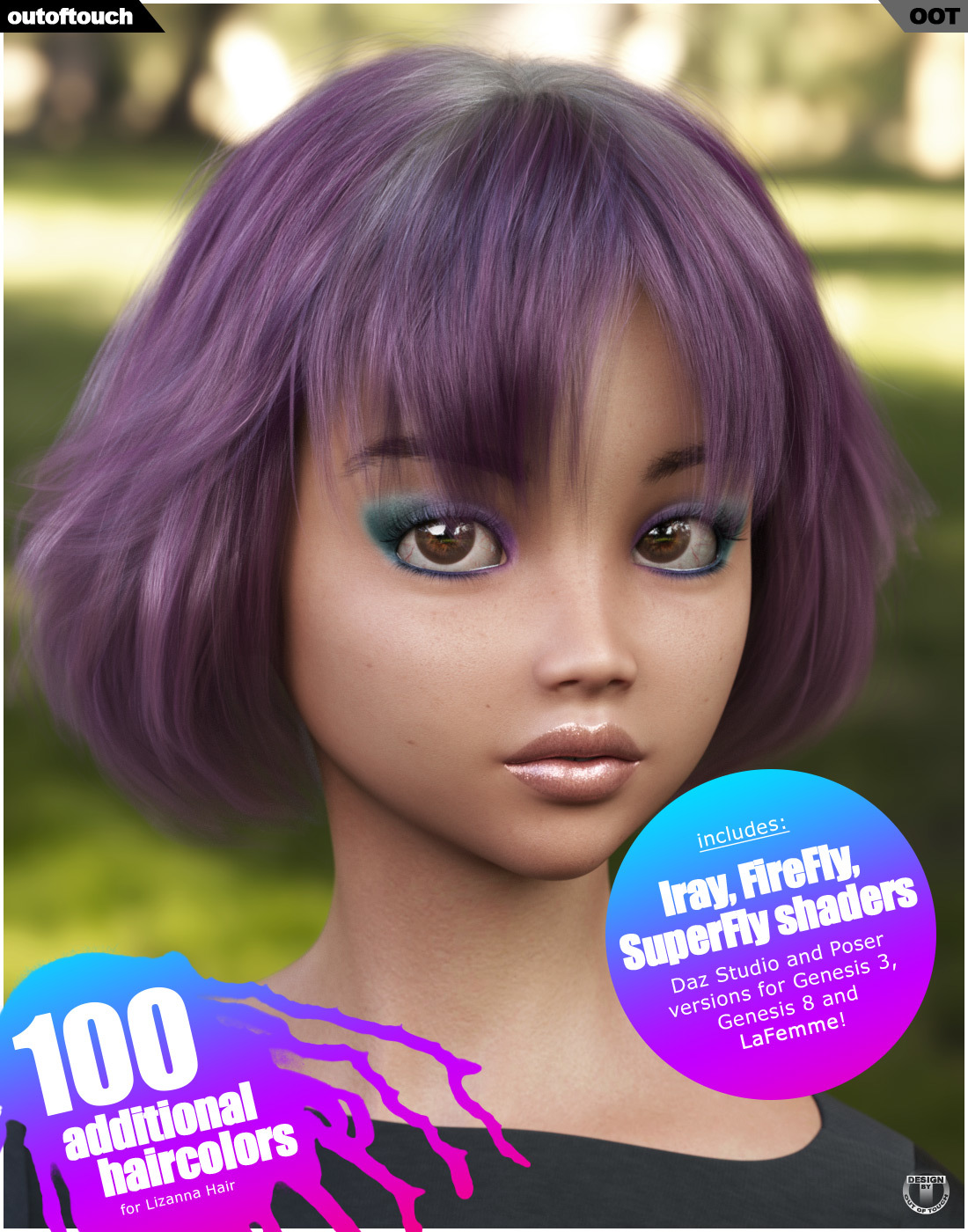 Lizanna Hair Texture XPansion by outoftouch