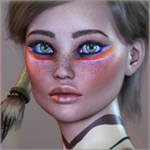 TDT-Agnela for Genesis 3 Female image 1