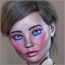 TDT-Agnela for Genesis 3 Female image 4