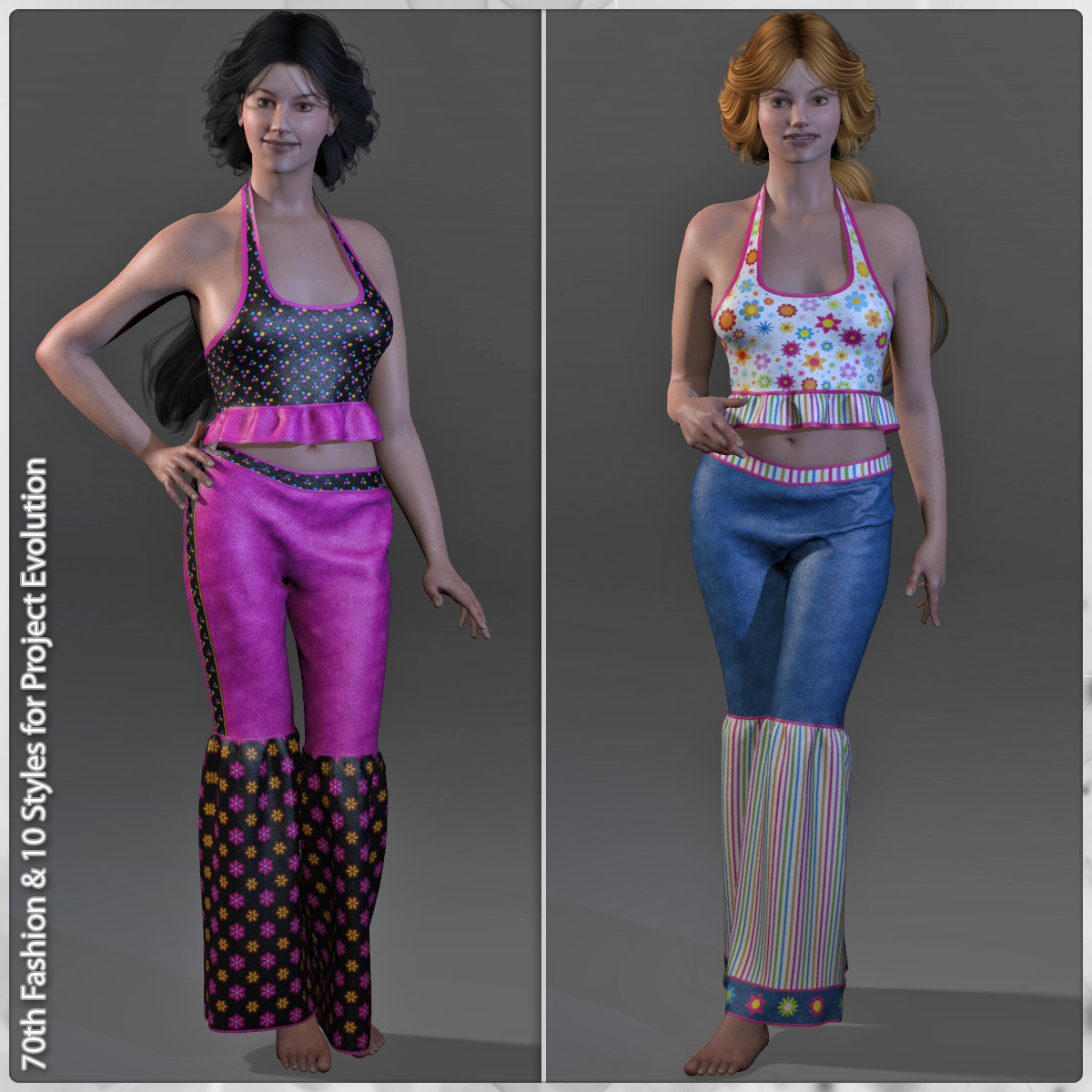 70th Fashion and 10 Styles for Project Evolution