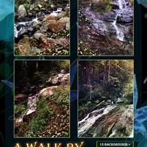 A Walk By The Waterfall Backgrounds image 1