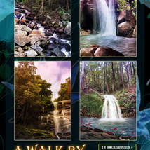 A Walk By The Waterfall Backgrounds image 2