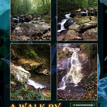 A Walk By The Waterfall Backgrounds image 3