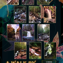 A Walk By The Waterfall Backgrounds image 4