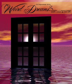 Weird Dreams II 2D Graphics Claywoman