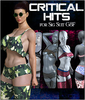 Critical Hits for Sig Suit G8F 3D Figure Assets SWTrium