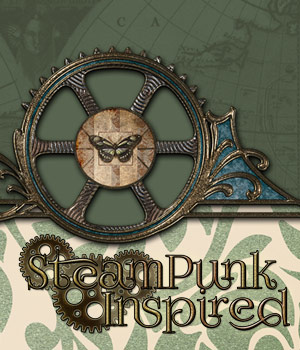 Steampunk Inspired 4 2D Graphics antje